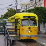 Trolejbus na kolejích