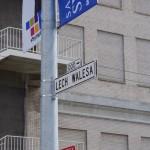 Lech Walesa tu má svojí uličku