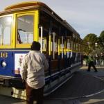 Točna na konečné cable car